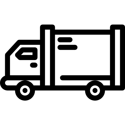 A simple icon of a truck.